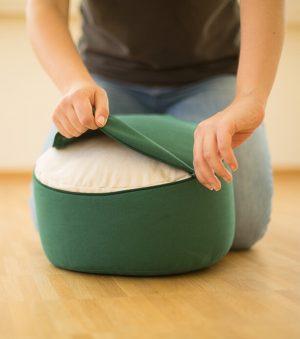 Erzieherinnen-Sitzkissen Reissverschluss